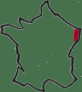 Région Alsace vin