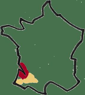 Région Bordeaux Sud-Ouest vin