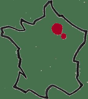 Région Champagne vin