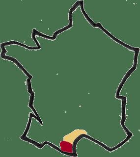 Région Languedoc Roussillon vin