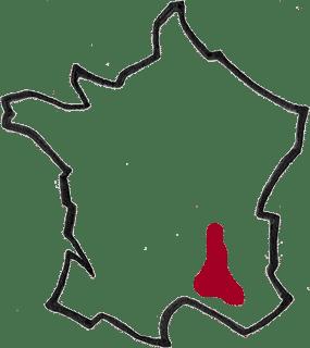 Région Vallée du Rhône vin