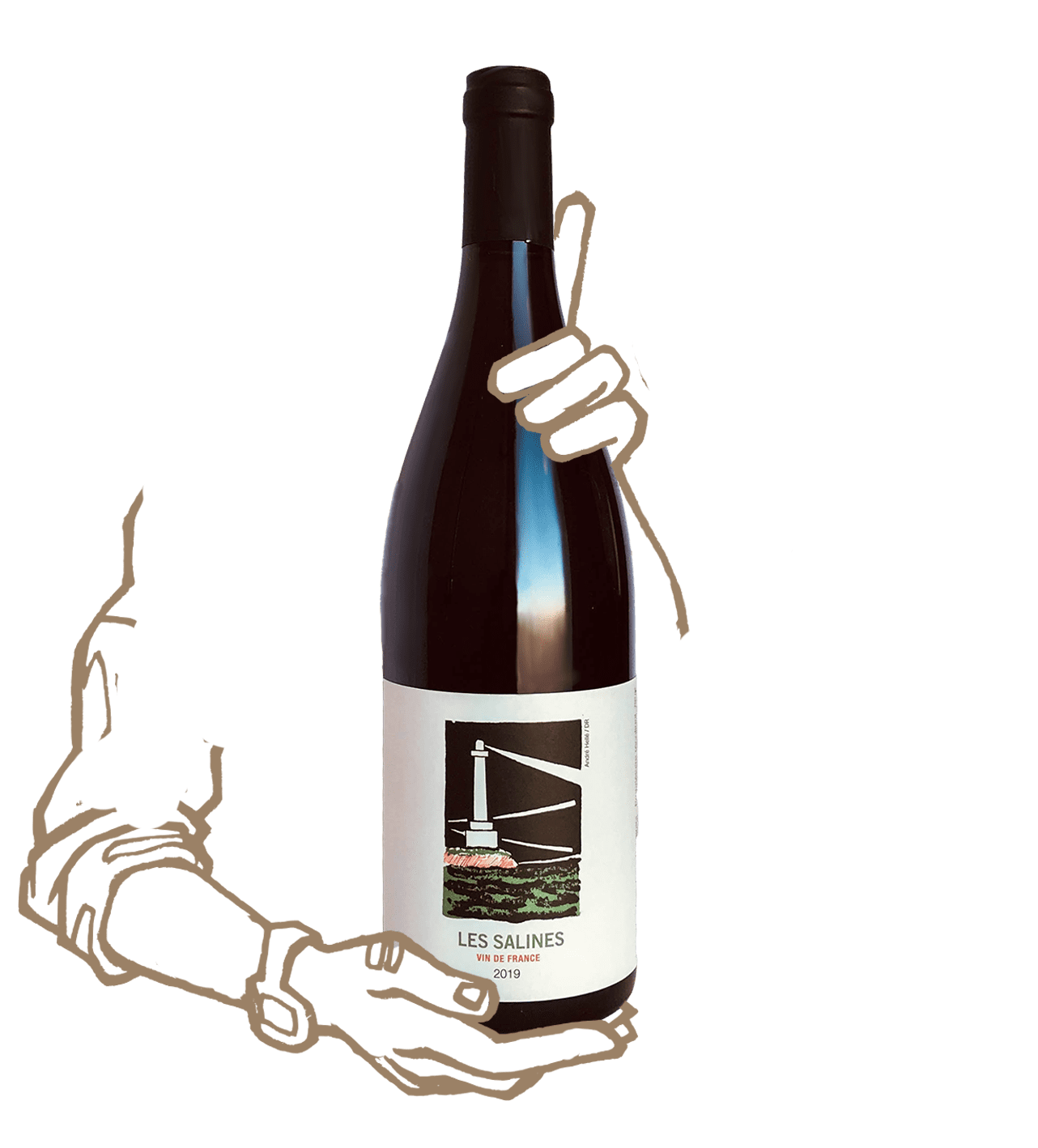 Les Salines du Mas mellet est un vin naturel rosé