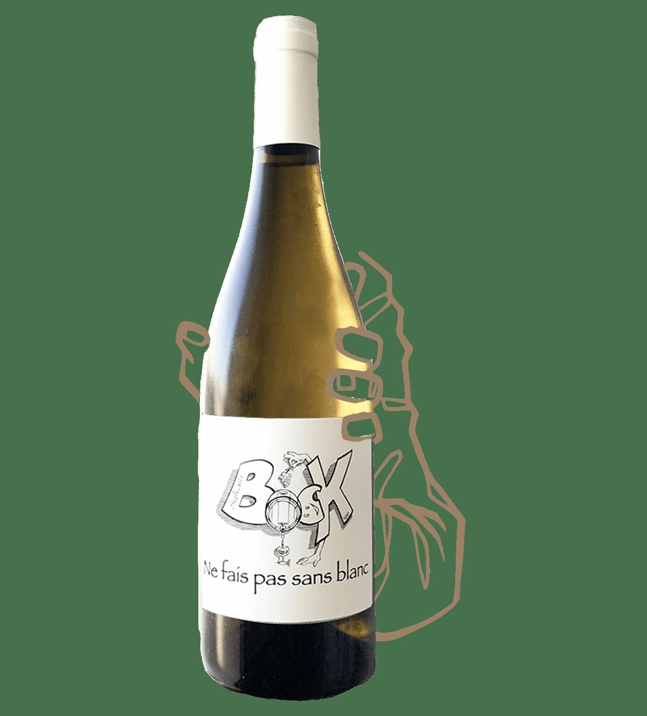 ne fais pas sans blanc est un vin blanc naturel sans sulfite ajouté de sylvain bock