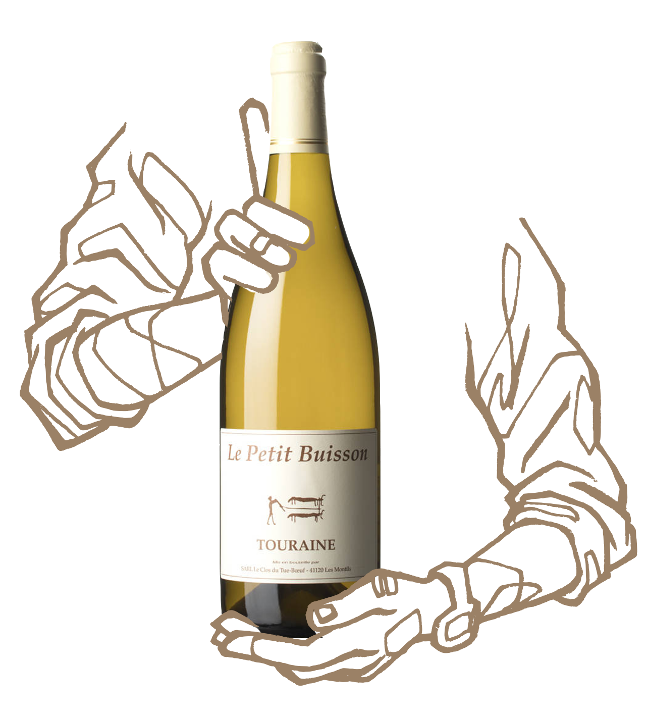 Cuvée Petit buisson, du domaine Clos du tue Boeuf est un vin naturel de Loire