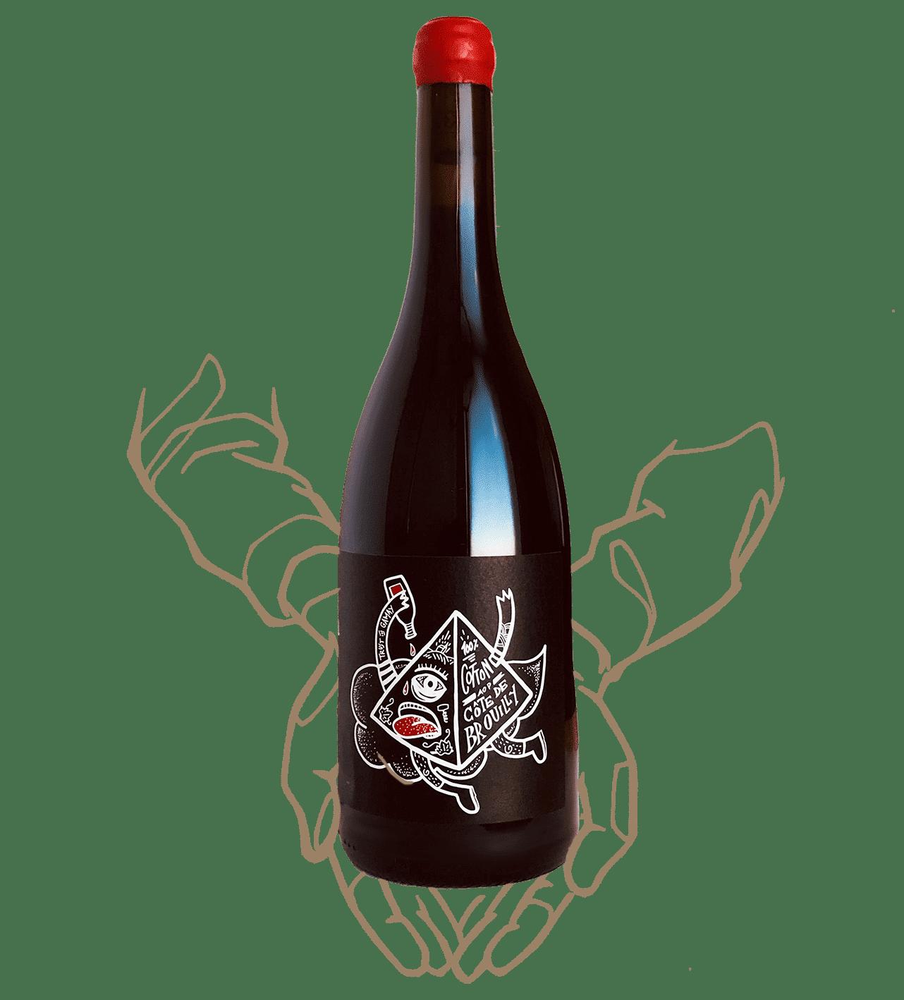 La cuvée Cote de Brouilly de Pierre Cotton est un vin naturel du Beaujolais
