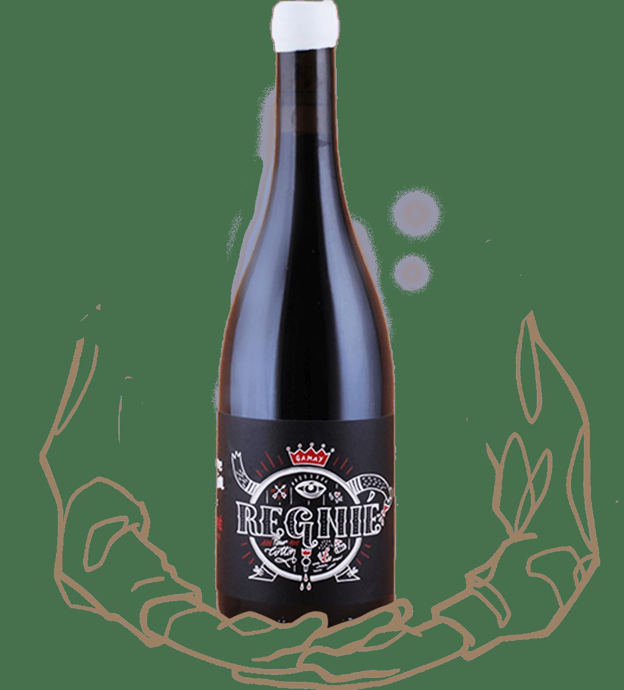 La cuvée Régnié de Pierre Cotton est un vin naturel du Beaujolais