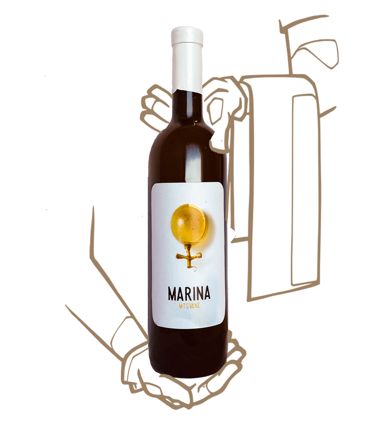 Marina de Iago's wine est un vin naturel de Géorgie