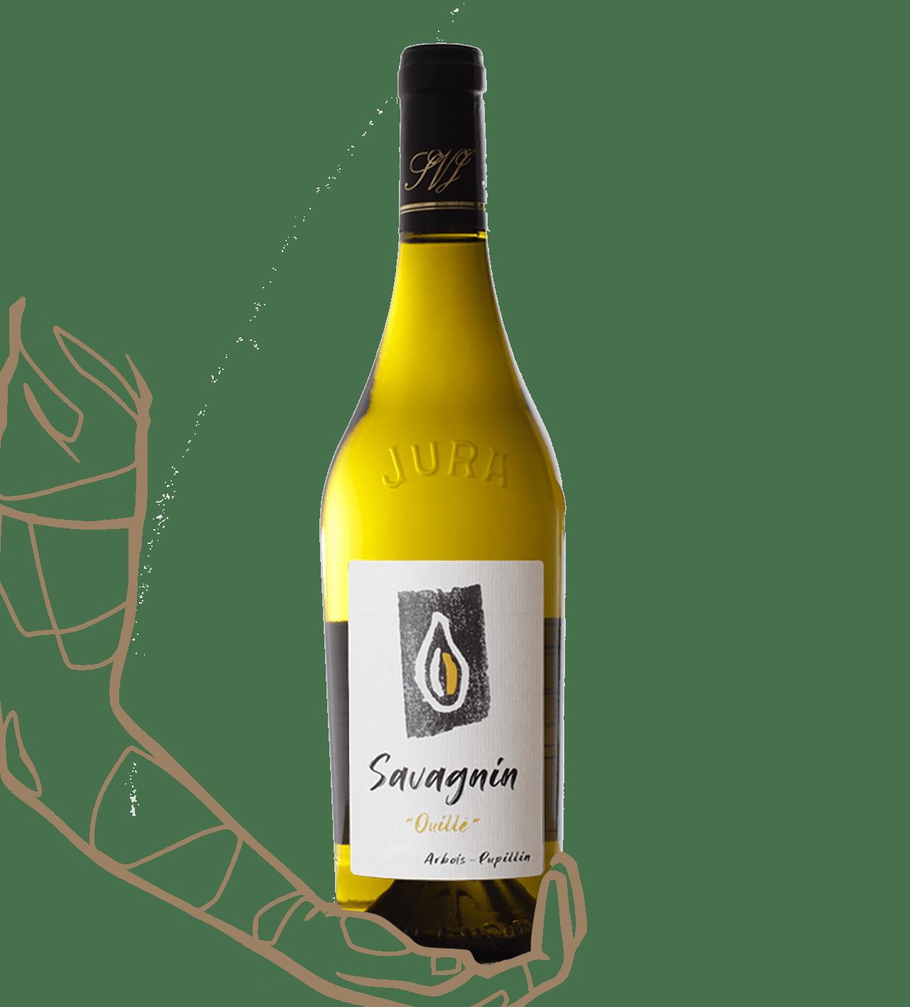 pépin blanc savagnin ouillet est un vin nature du jura de kévin bouillet