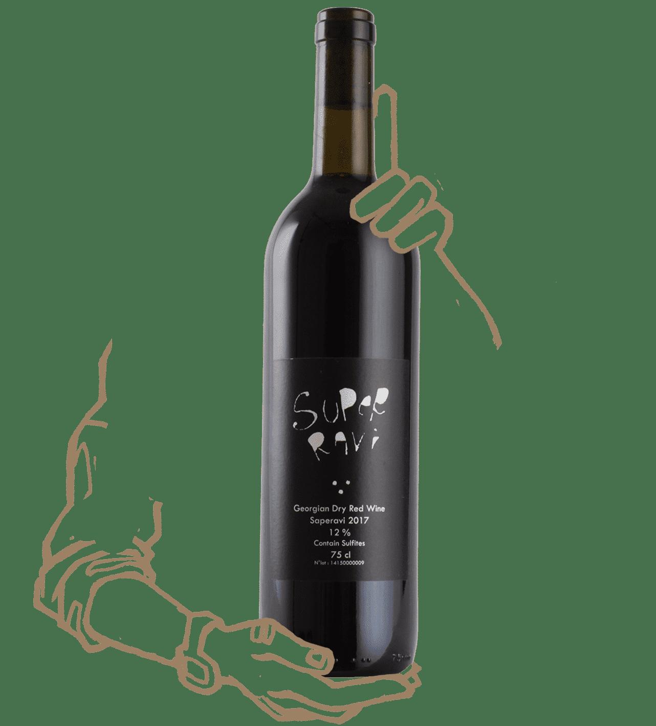 Lapati superavi est un vin naturel de géorgie