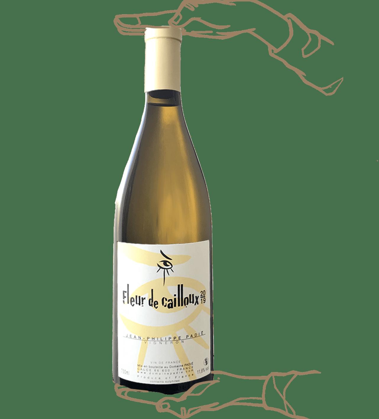 Fleur de Cailloux est un vin naturel du domaine Padié dans le roussillon