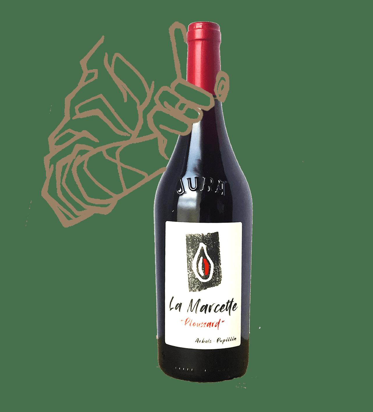 La Marcette de Kevin Bouillet est un vin naturel du Jura