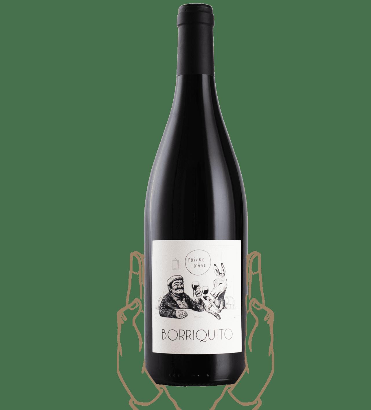 borriquito est un vin rouge naturel