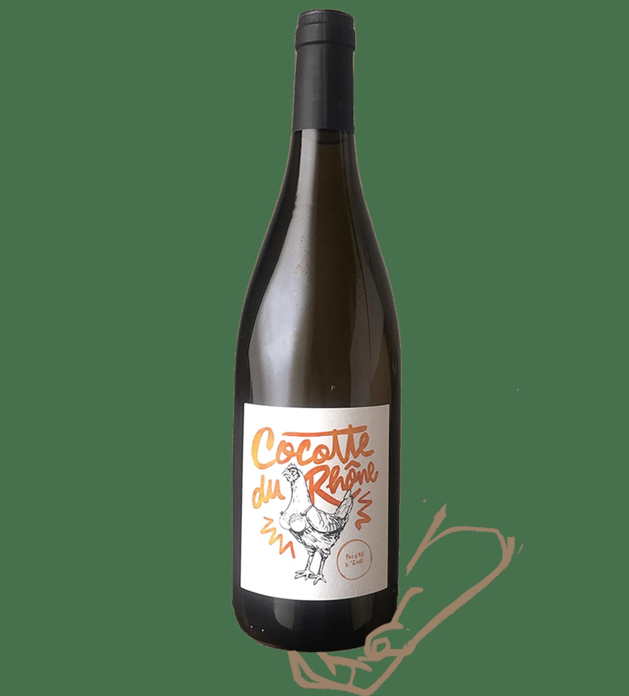 Cocotte du rhône est un vin de Poivre d'ane