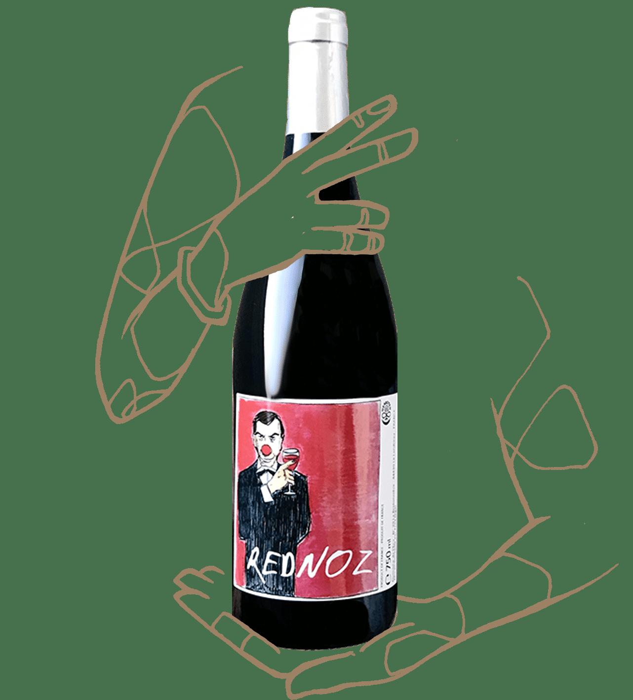 Rednoz est un vin rouge naturel de loire du domaine de l'écu