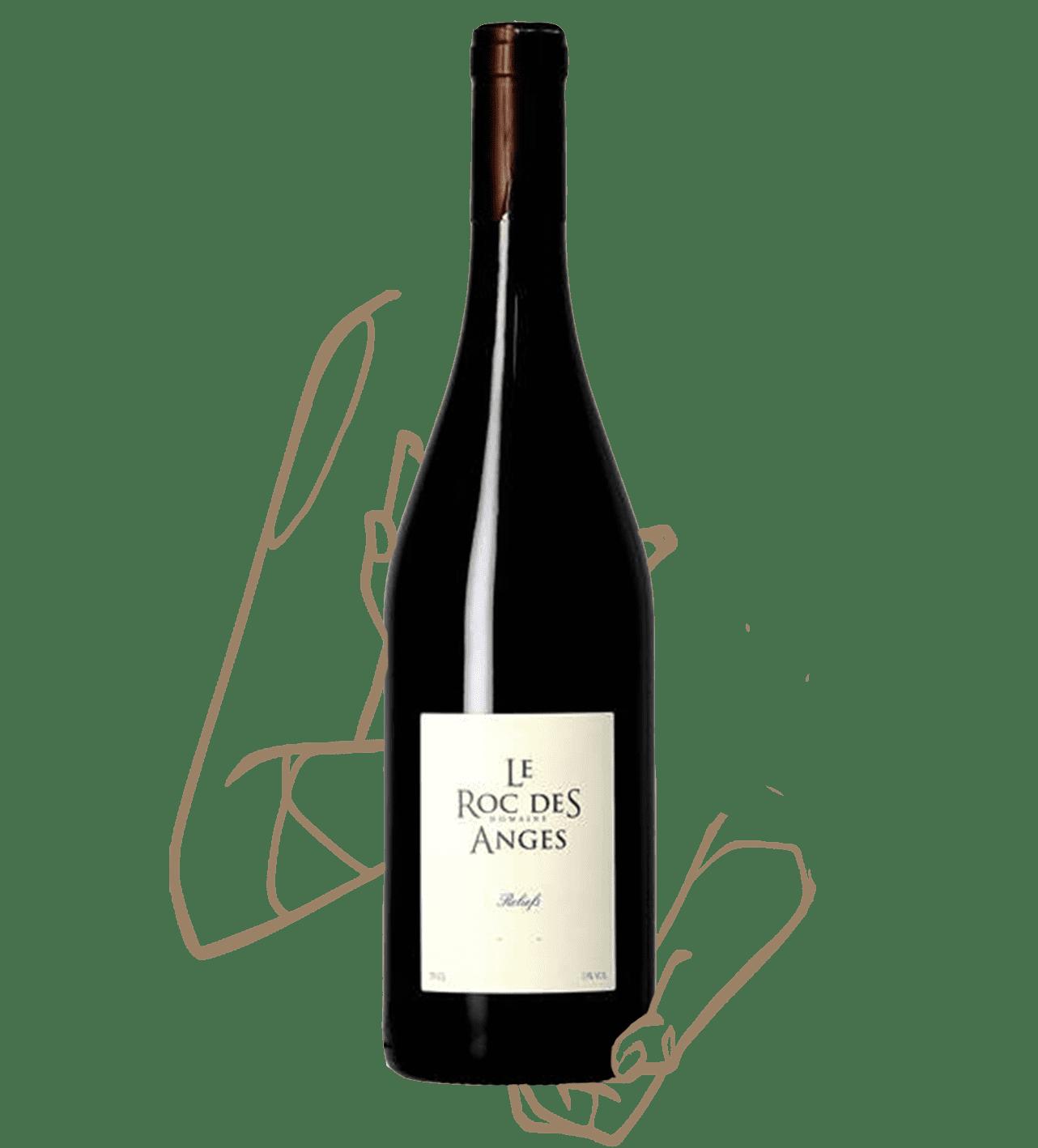 Relief est un vin rouge naturel biodynamique du domaine roc des anges