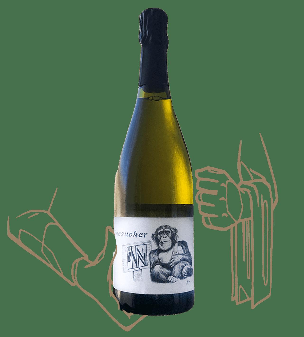 la bulle de claude est un vin naturel signé winesucker et les vins pirouettes en Alsace