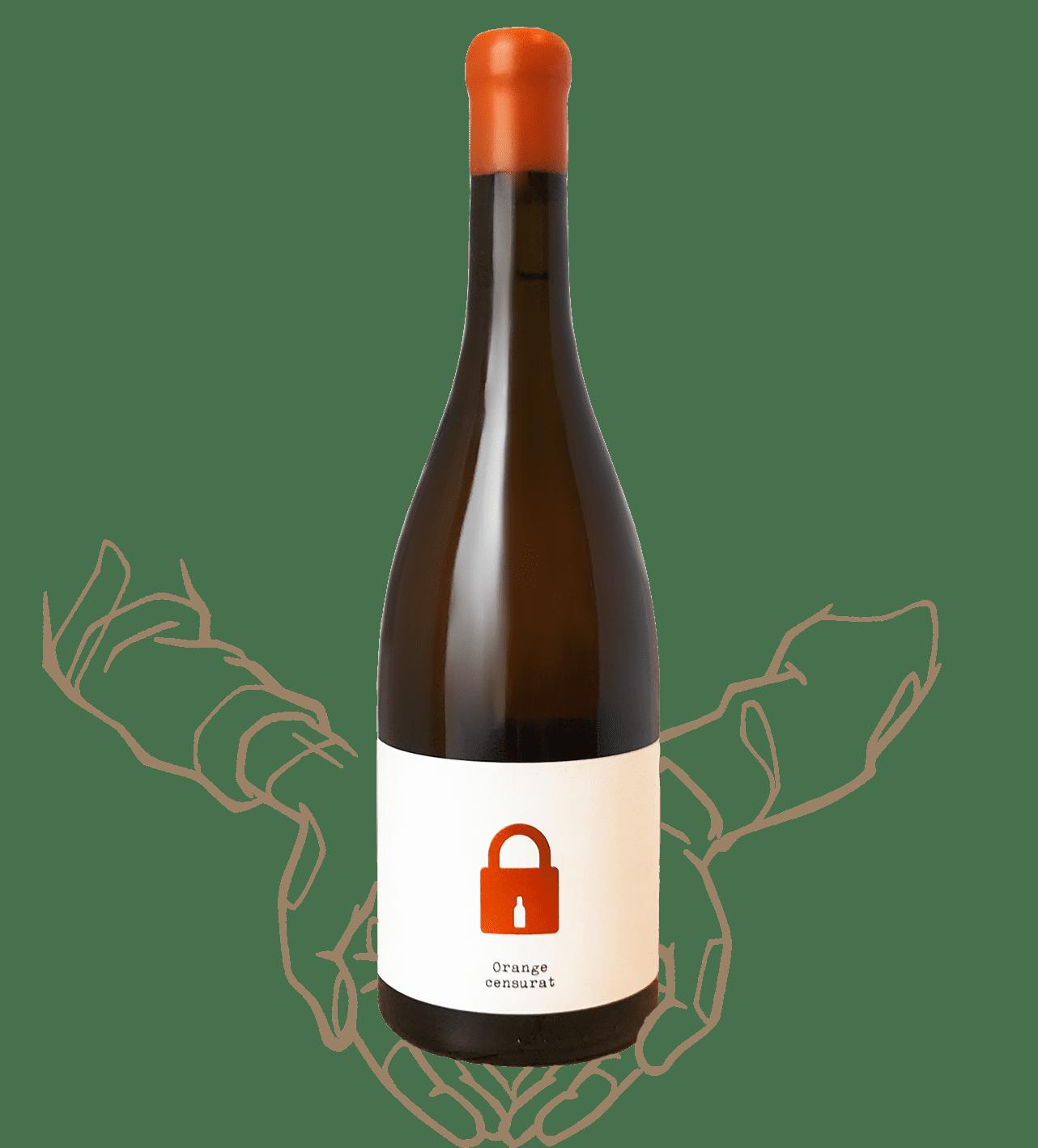 Orange censurat est un vin naturel de la bodega clandestina