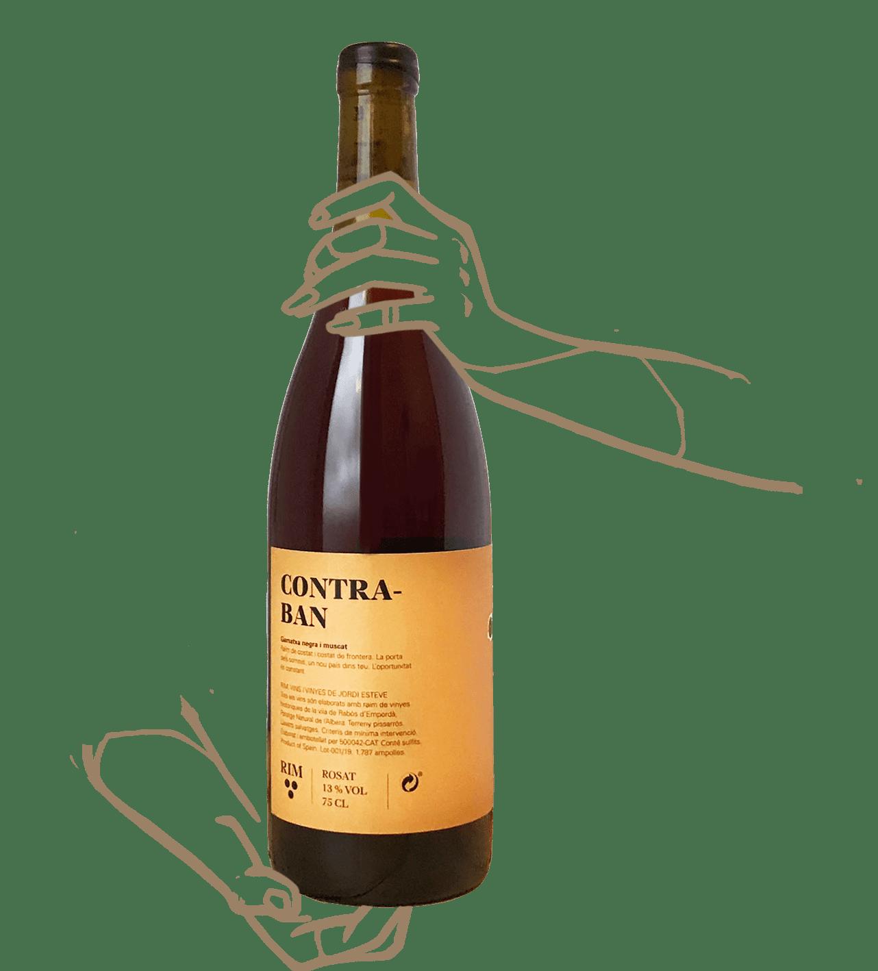 Contraban du domaine celler rim est un vin naturel catalan