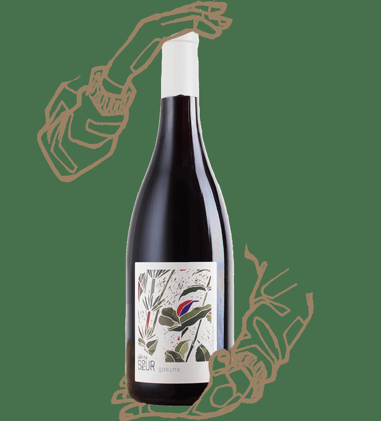 Les gamins est un vin naturel de loire du domaine de la petite soeur