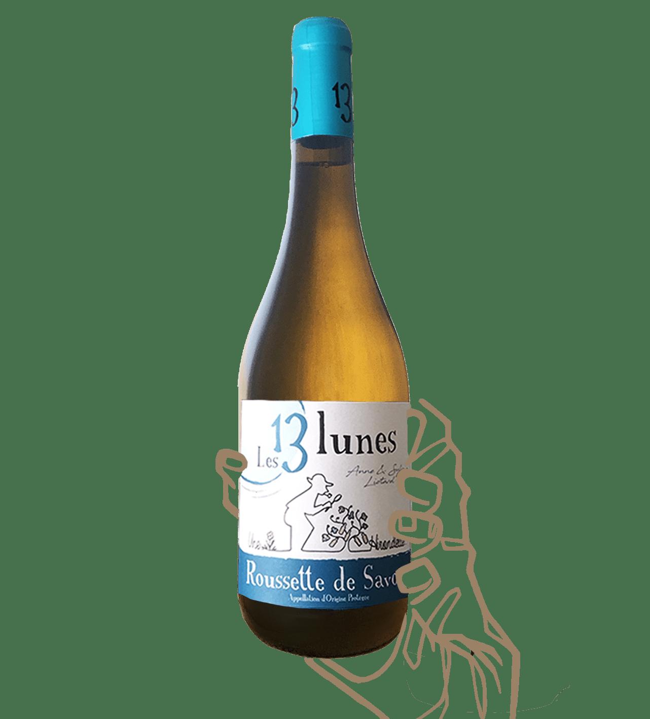 hirondelles est un vin naturel et biodynamique blanc de savoie du domaine des 13 lunes