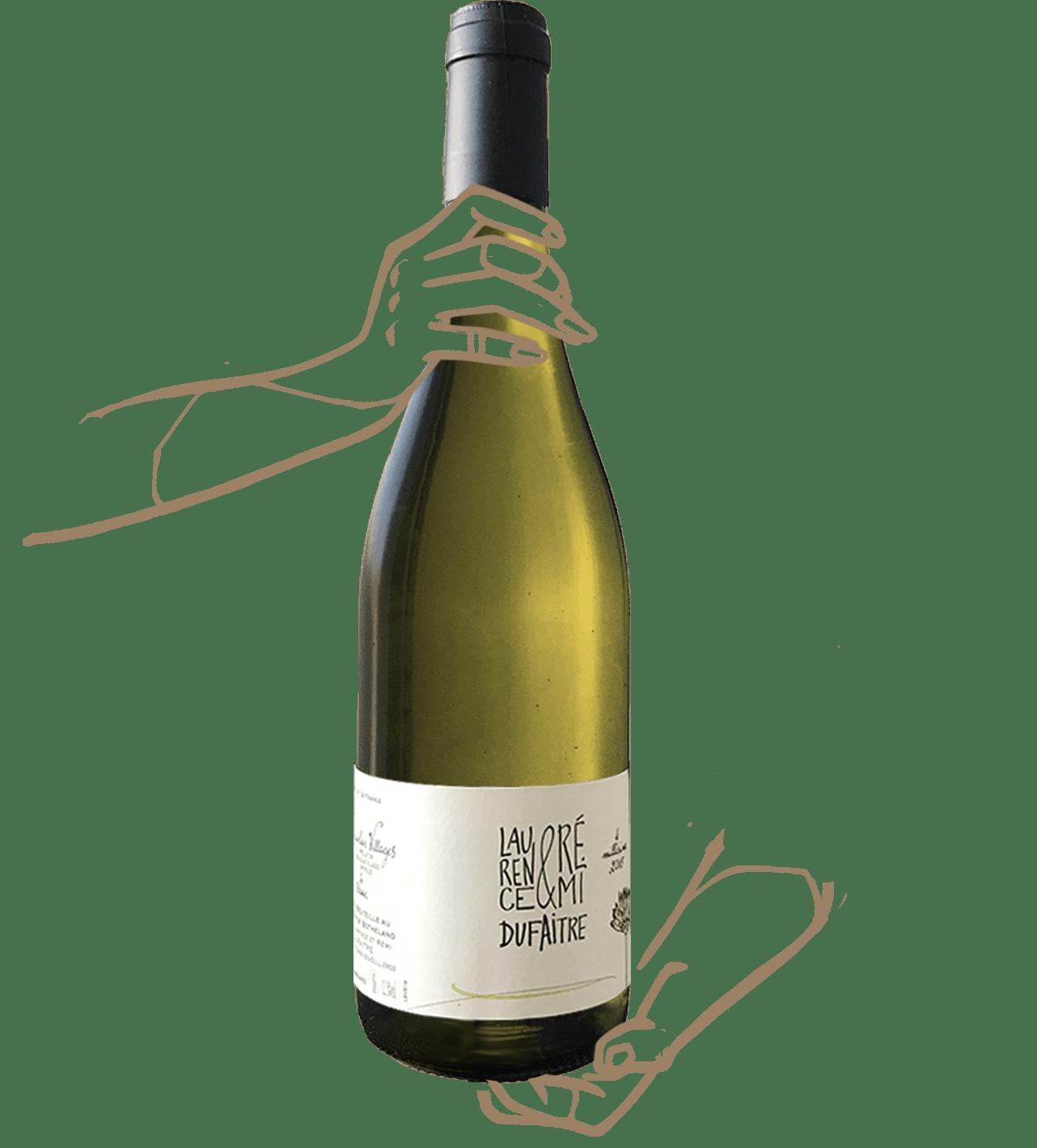 le blanc de remi dufaitre est un vin nature du beaujolais