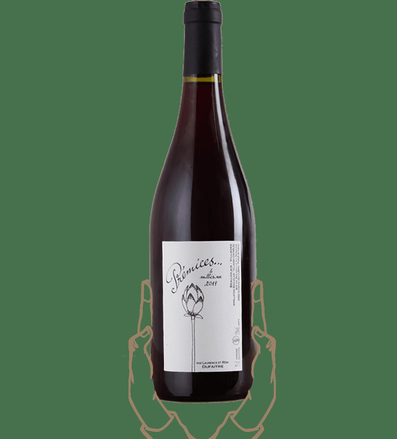 prémices de rémi dufaitre est un vin naturel du beaujolais