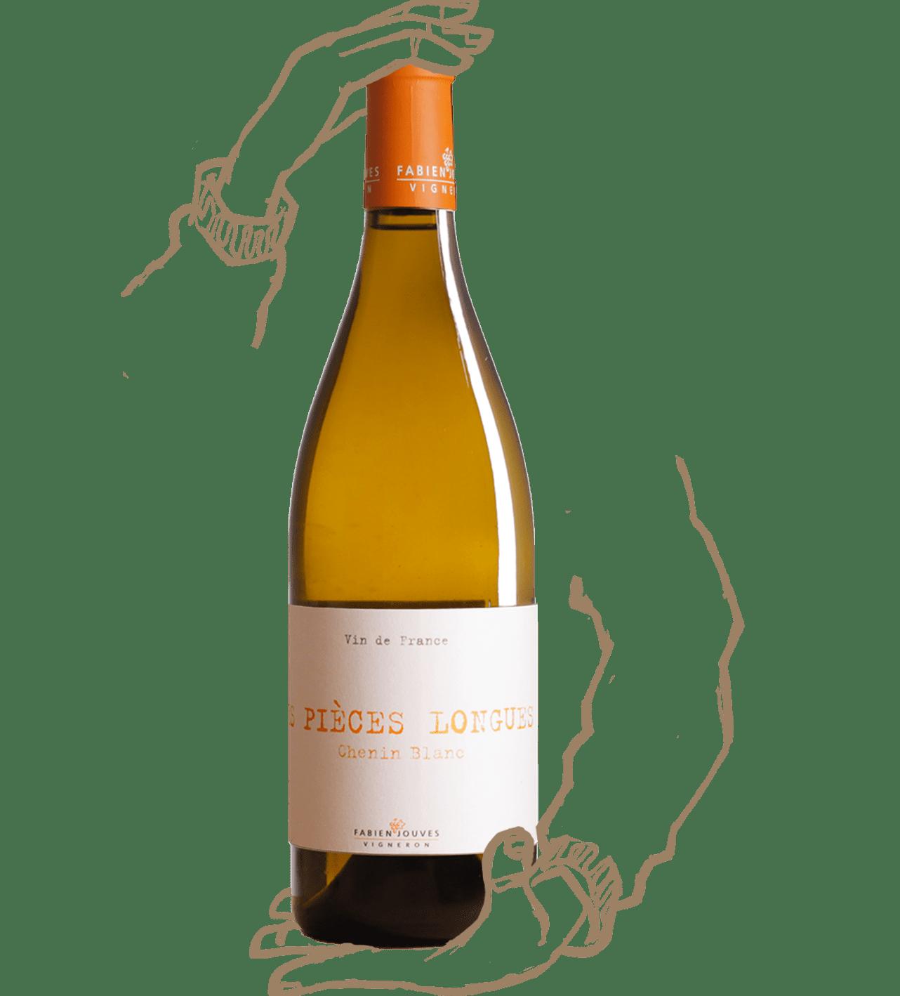 Les pièces longues est un vin naturel de Fabien jouves du domaine mas del périé