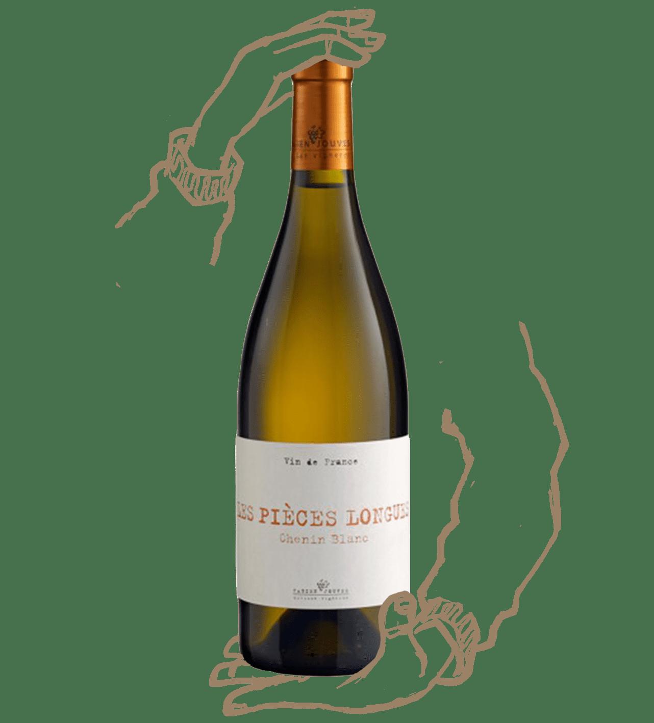 Les pièces longues est un vin naturel de Fabien jouves (mas del périé)