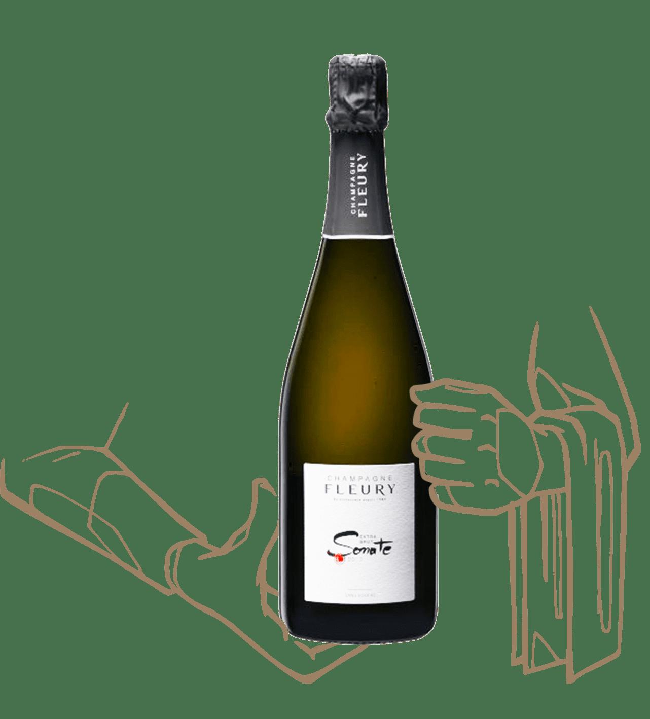 Sonate 2012 est un champagne de la maison champagne fleury