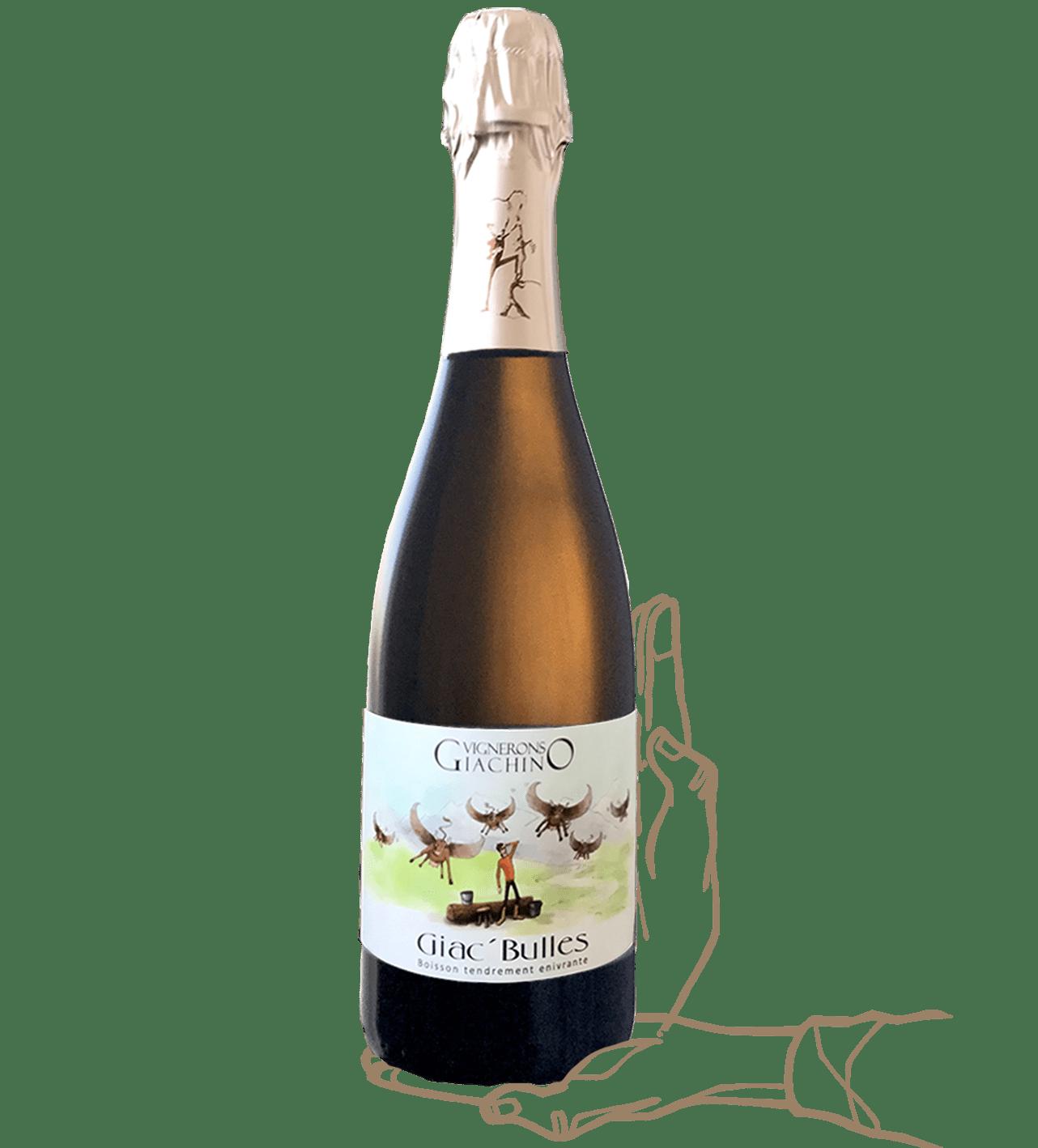 Giac bulle est un vin naturel du domaine giachino en savoie