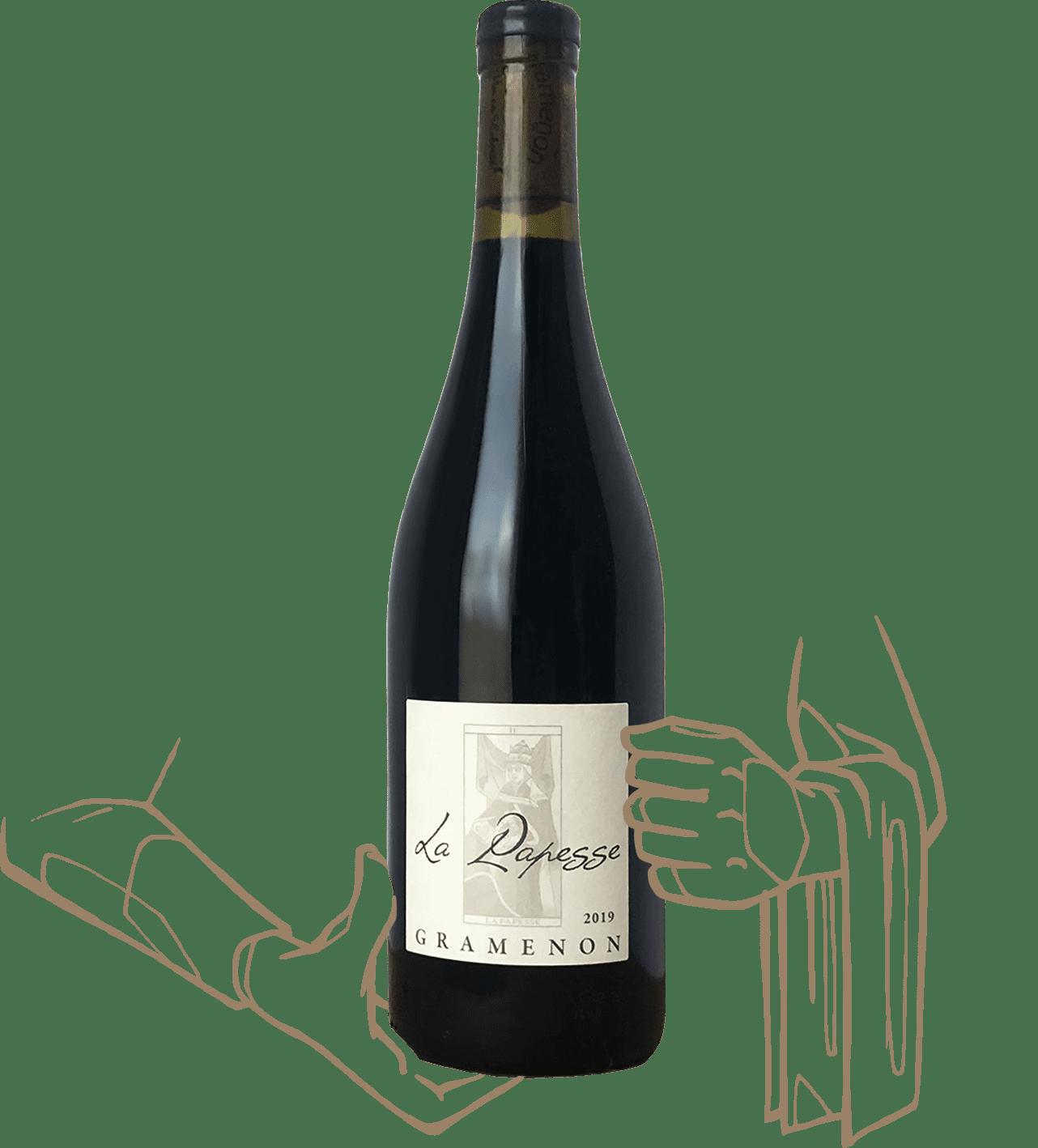 La papesse du domaine de gramenon est un vin naturel