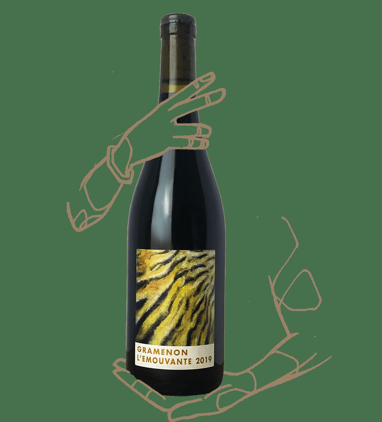L'emouvante du domaine de Gramenon est un vin naturel