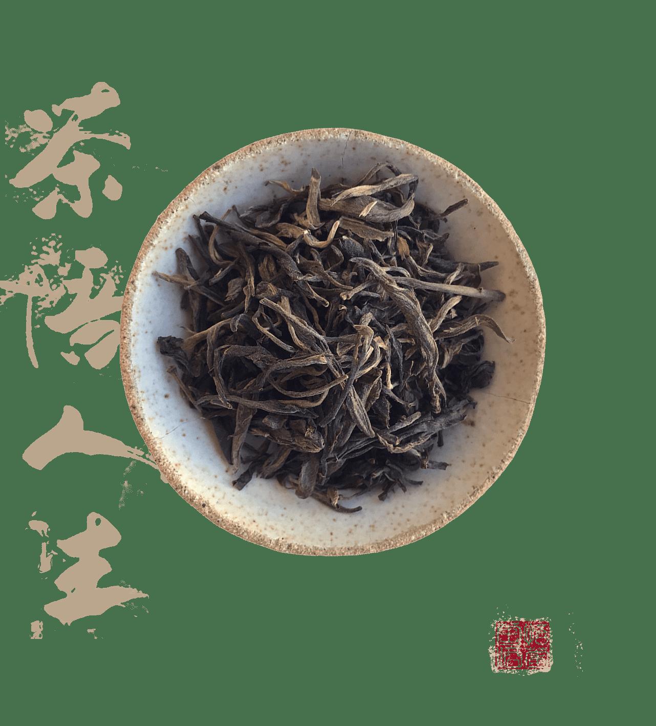 Hou you tea gushu sheng est un thé pu erh cru sheng
