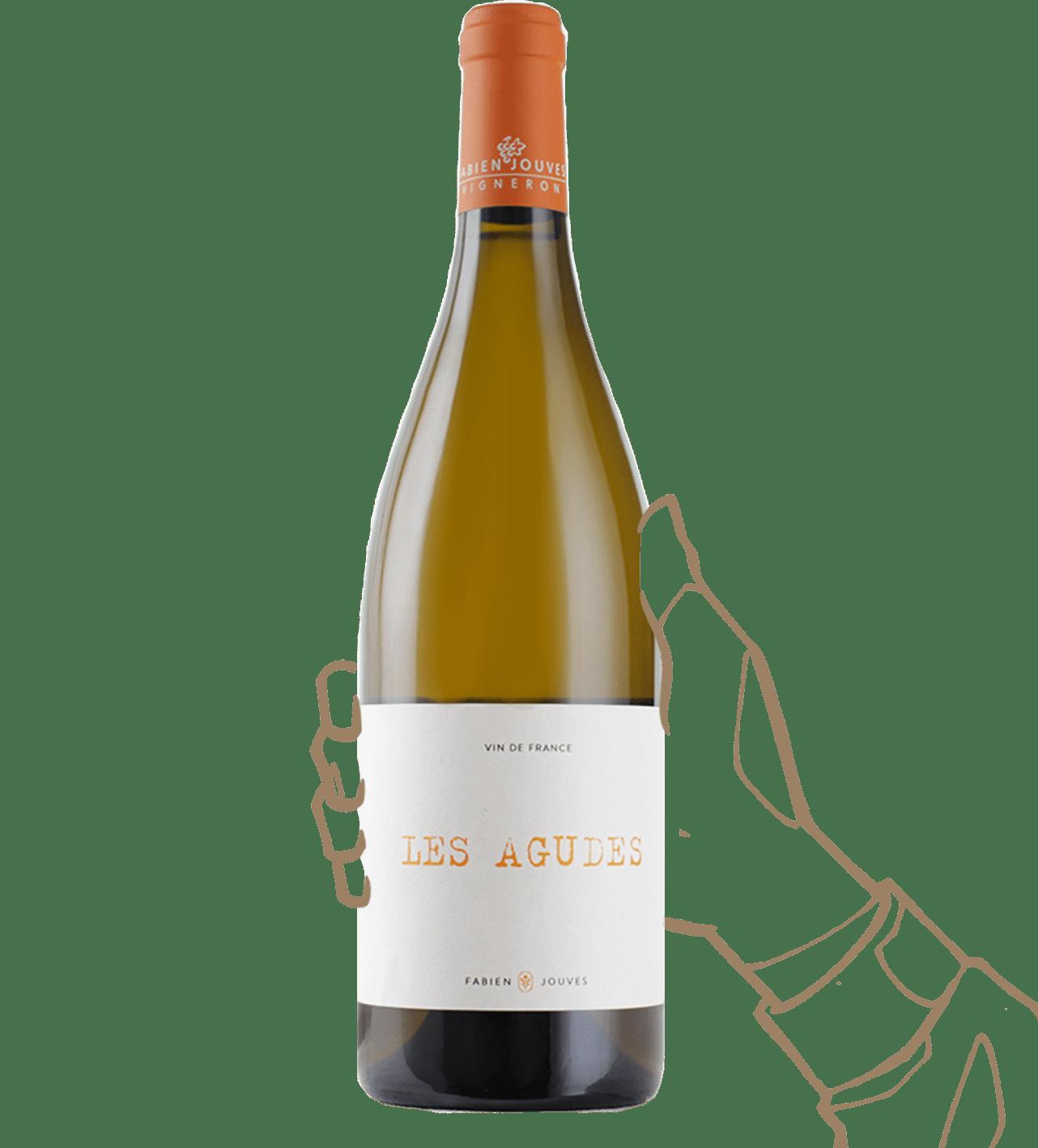 Les agudes est un vin naturel de Fabien jouves (mas del périé)