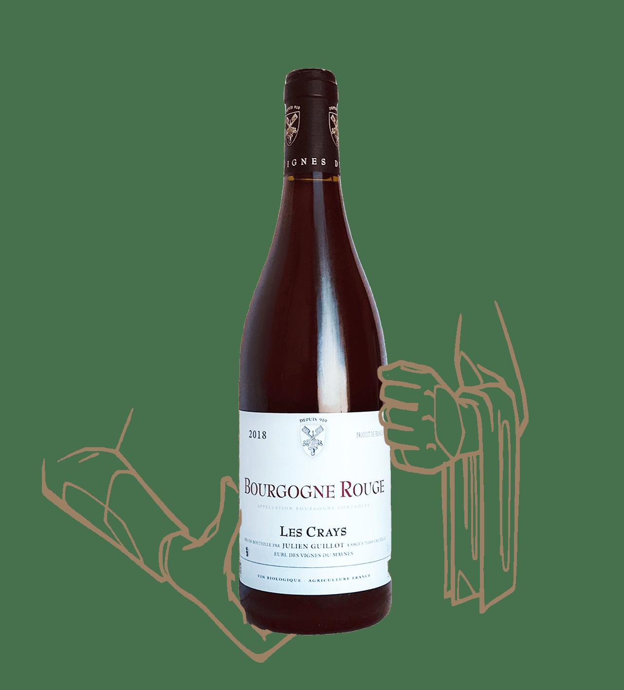 Les crays est un vin naturel de bourgogne du domaine le clos des vignes du maynes