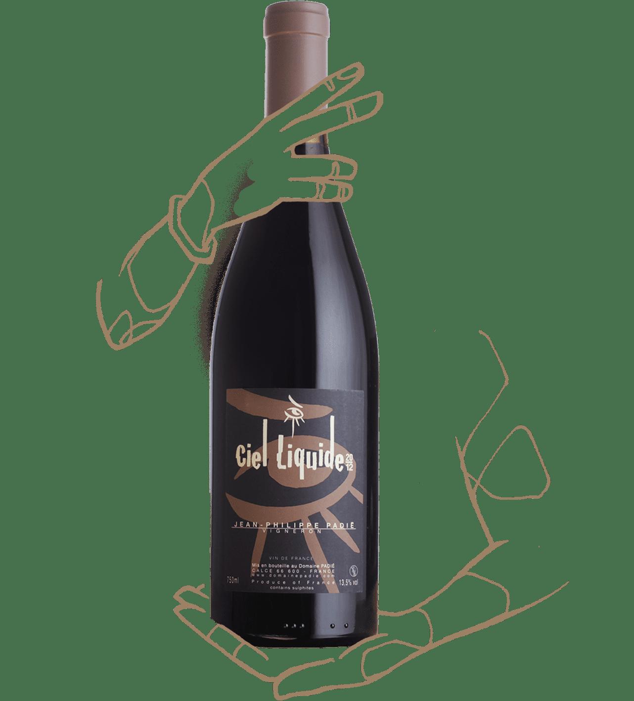Ciel liquide du domaine Padié est un vin naturel du Roussillon