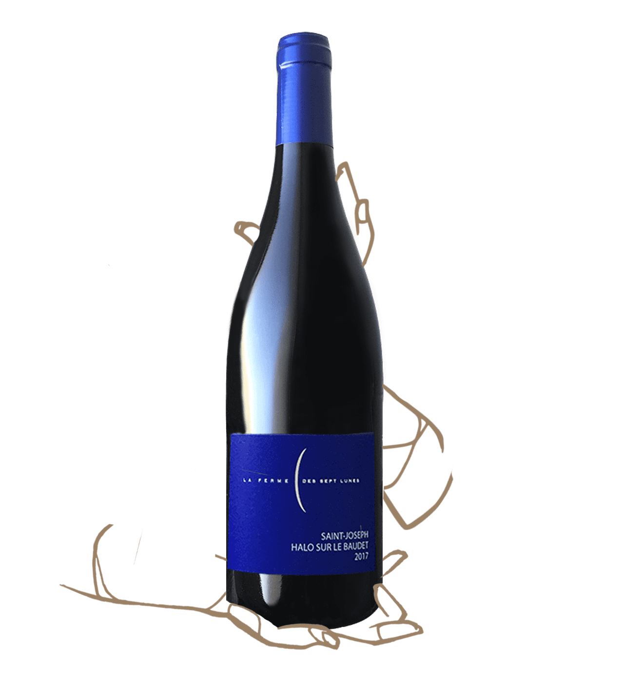 Halo sur le Baudet de la Ferme des 7 lunes est un vin naturel de Saint-Joseph