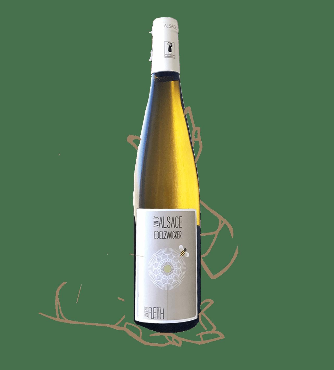 edelzwicker est un vin naturel d'alsace de vincent fleith
