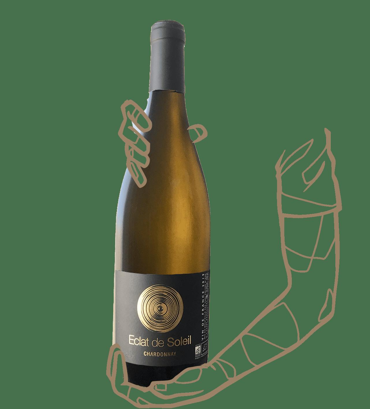 éclat de soleil est un vin blanc naturel avec poivre d'ane