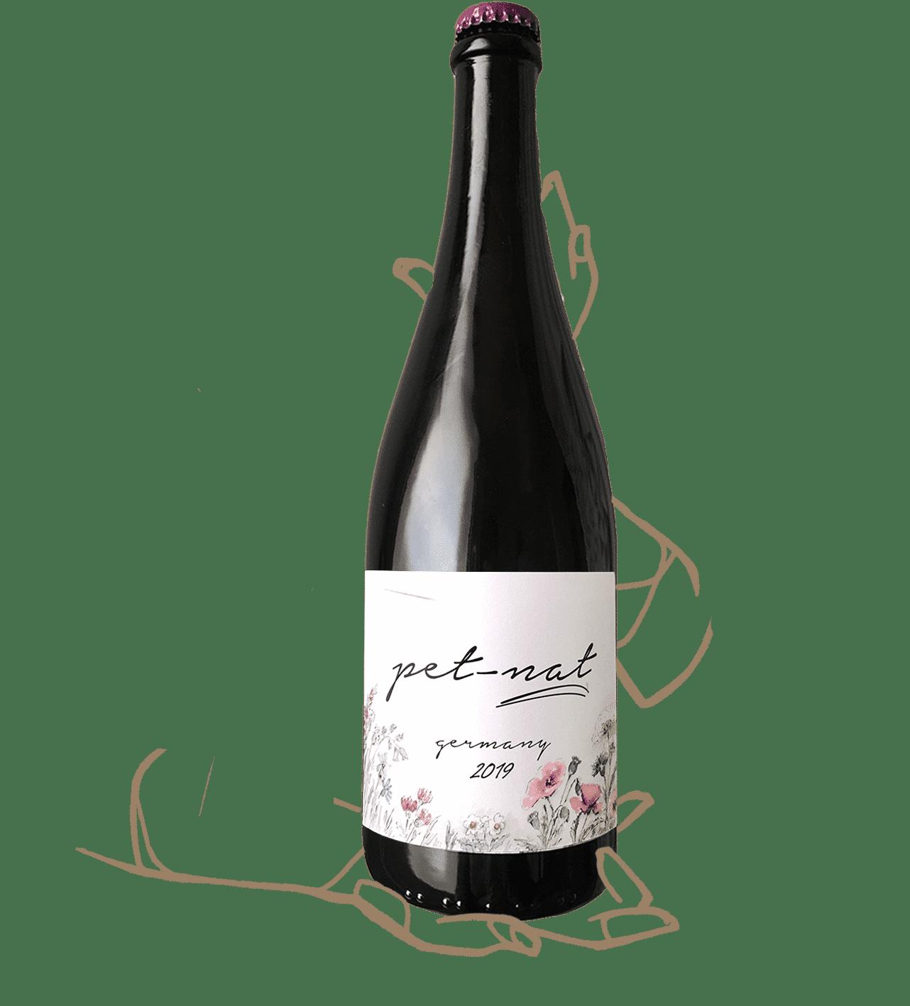 Pet Nat des frères Brand Bros, vin naturel d'allemagne