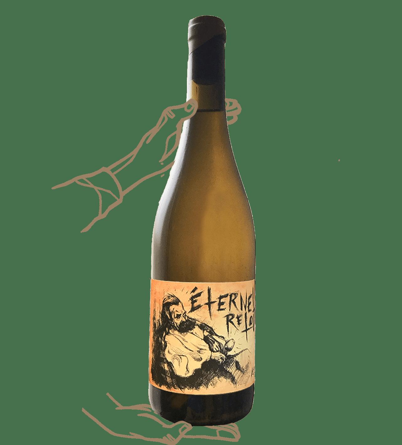 éternel retour est un vin orange naturel de la sorga