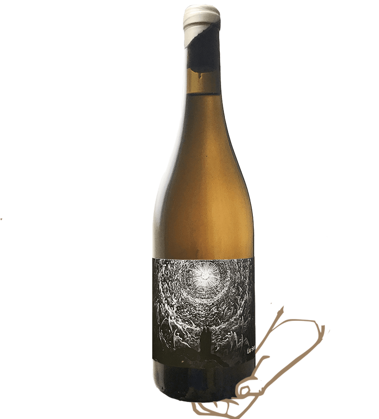 Feu III de la sorga est un vin orange naturel sans sulfite ajouté