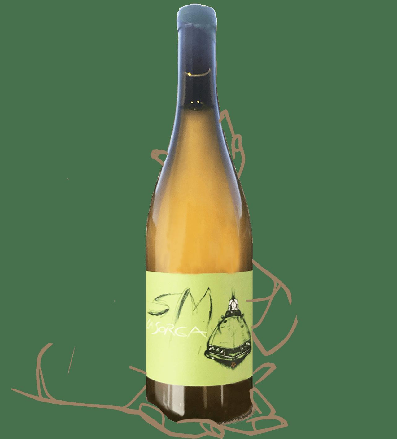 SM du domaine la sorga est un vin orange naturel
