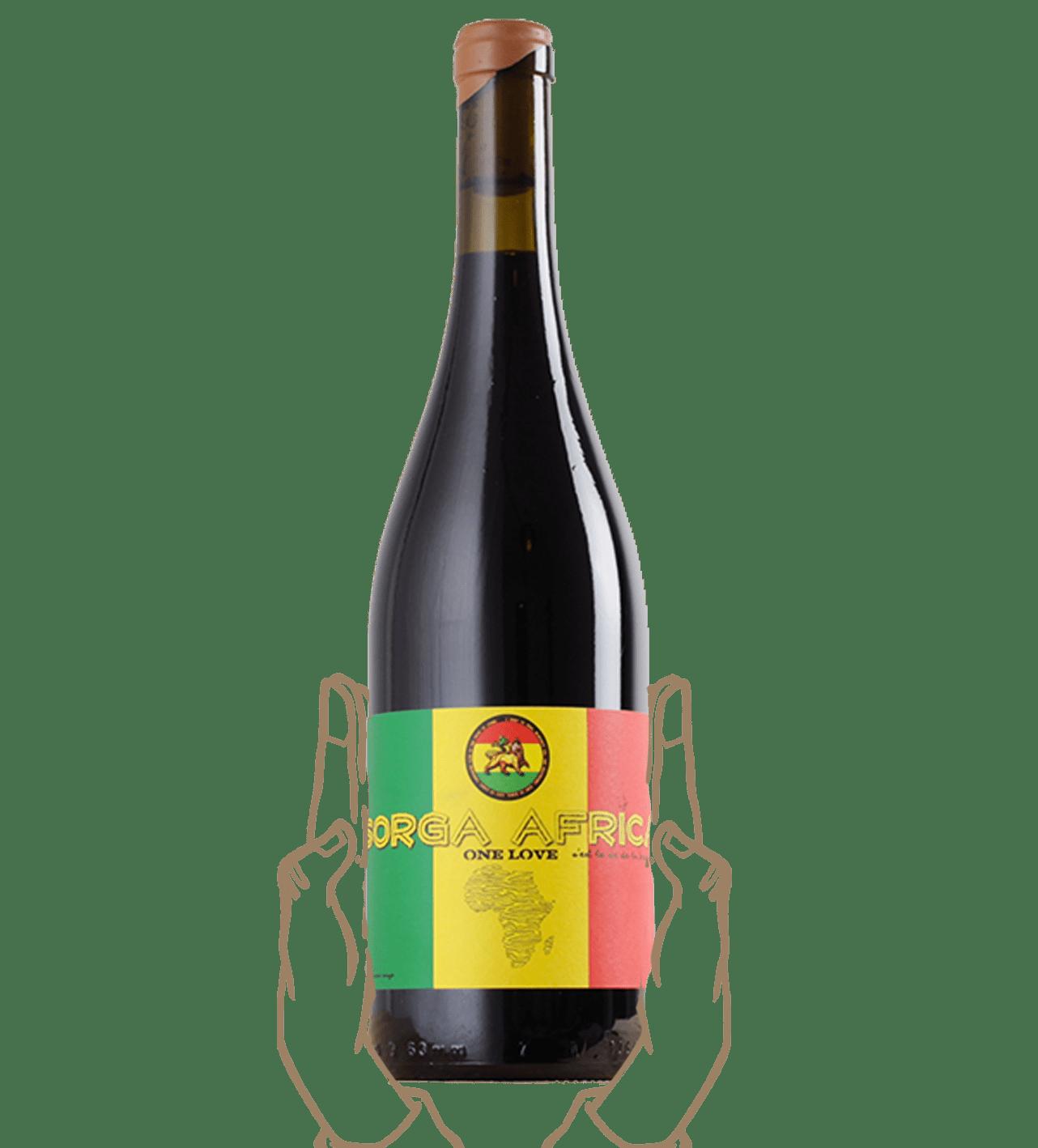 Sorga africa est un vin naturel sans sulfite ajouté du languedoc