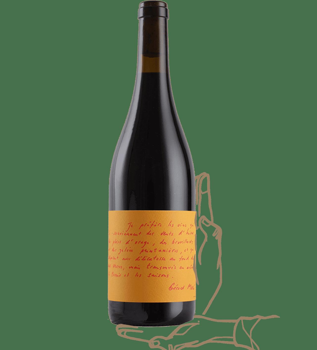 les poètes est fait par vin des potes et c'est un vin rouge naturel