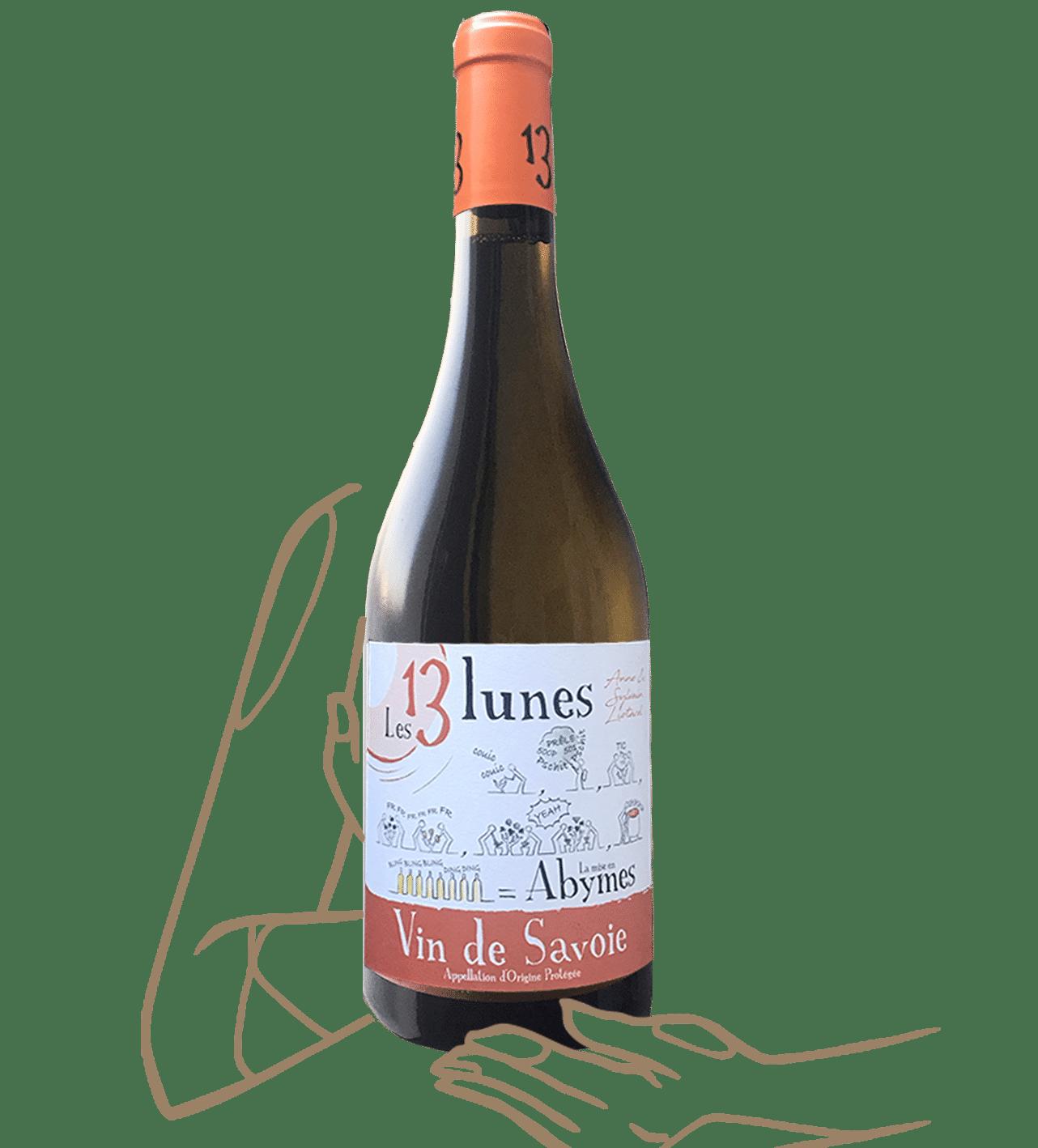 Mise en abymes - Domaine les 13 Lunes - Vin naturel de savoie