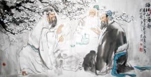 Chinese-Men-Drinking-Tea