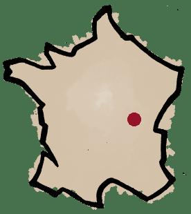 carte - clos des vignes du maynes