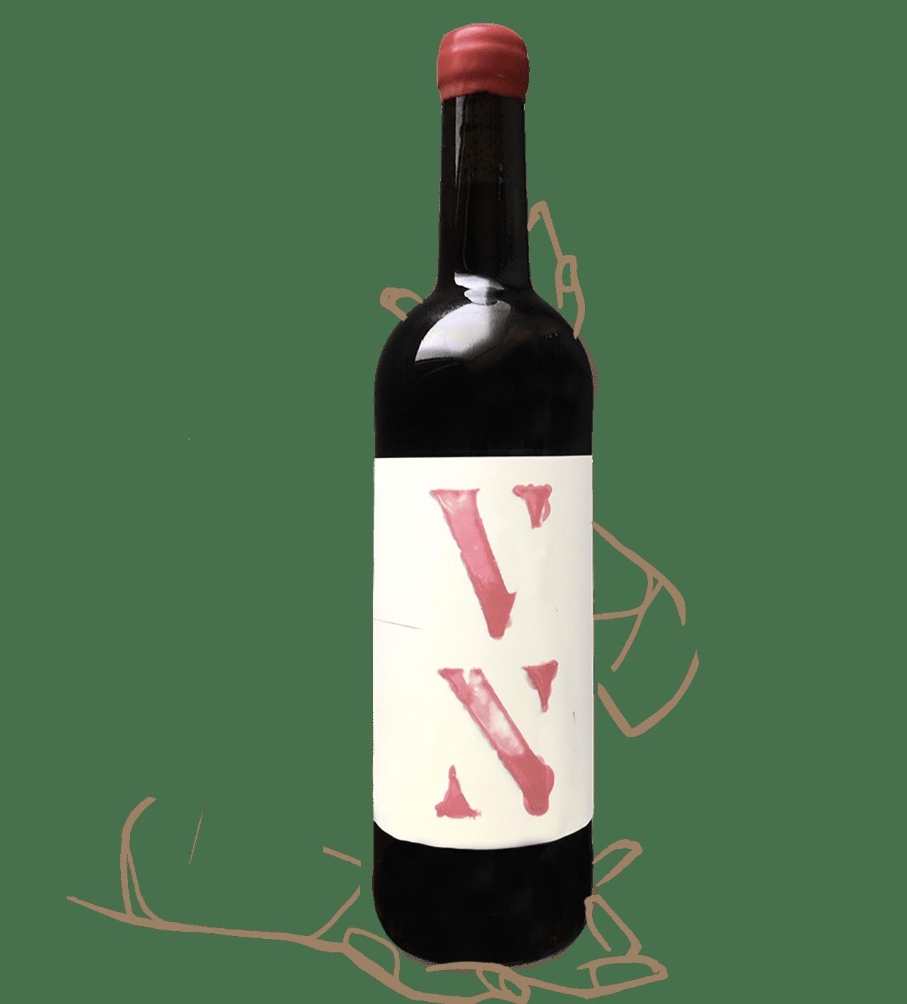 VN ROUGE de PARTIDA CREUS est un vin naturel d'espagne