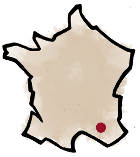 Domaine Badéa, carte